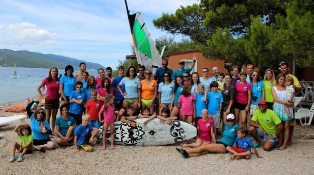 Kurz windsurfingu v Chorvátsku
