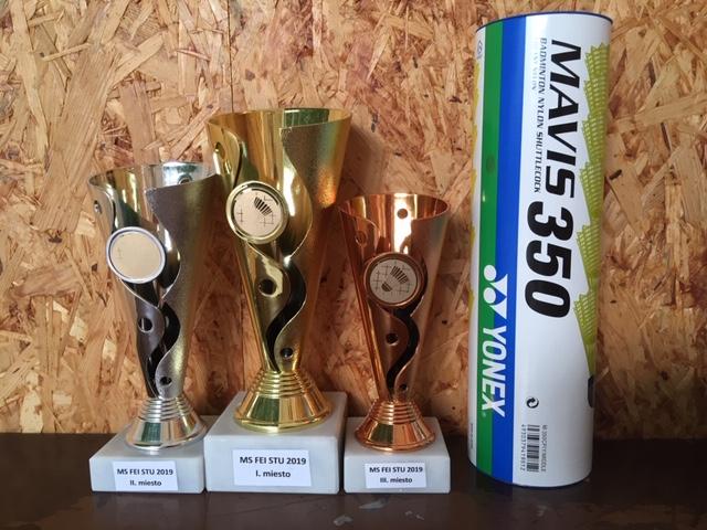 Majstrovstvá FEI STU v bedmintone 2019