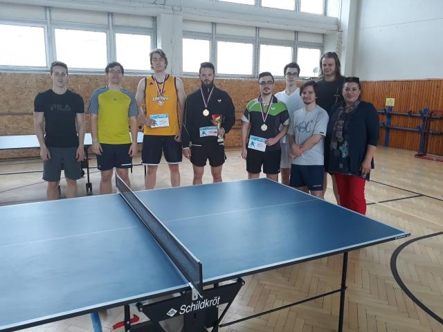 Majstrovstvá FEI a FIIT STU v stolnom tenise 2019