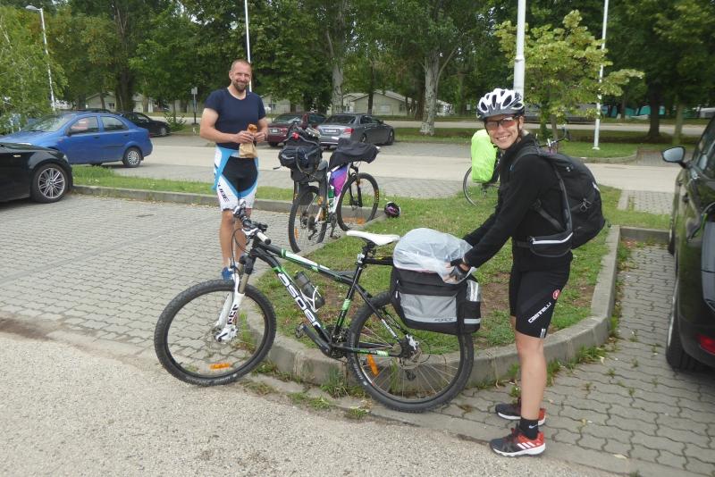 Úspešná cyklotúra okolo jazera Balaton