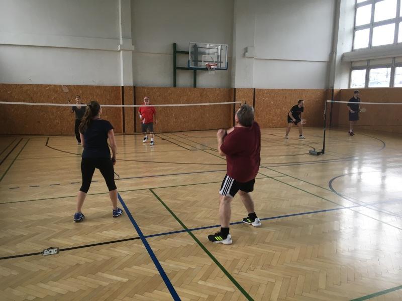 Vianočný turnaj zamestnancov - BEDMINTON