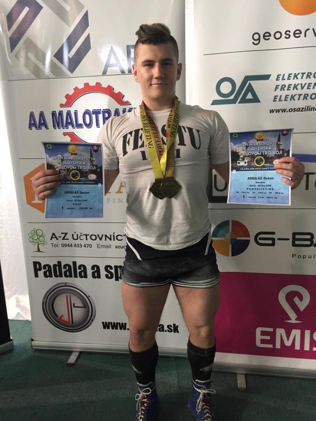Vynikajúce výsledky študentov FEI na Majstrovstvách SR v silovom trojboji